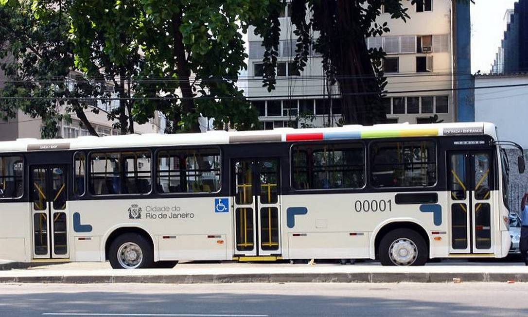 Novo modelo de ônibus que passará a circular no Rio. Foto: Divulgação