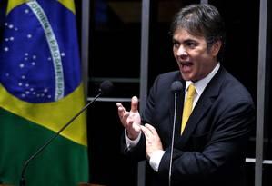 Senador Cássio Cunha Lima (PSDB-PB) Foto: O Globo / Ailton de Freitas