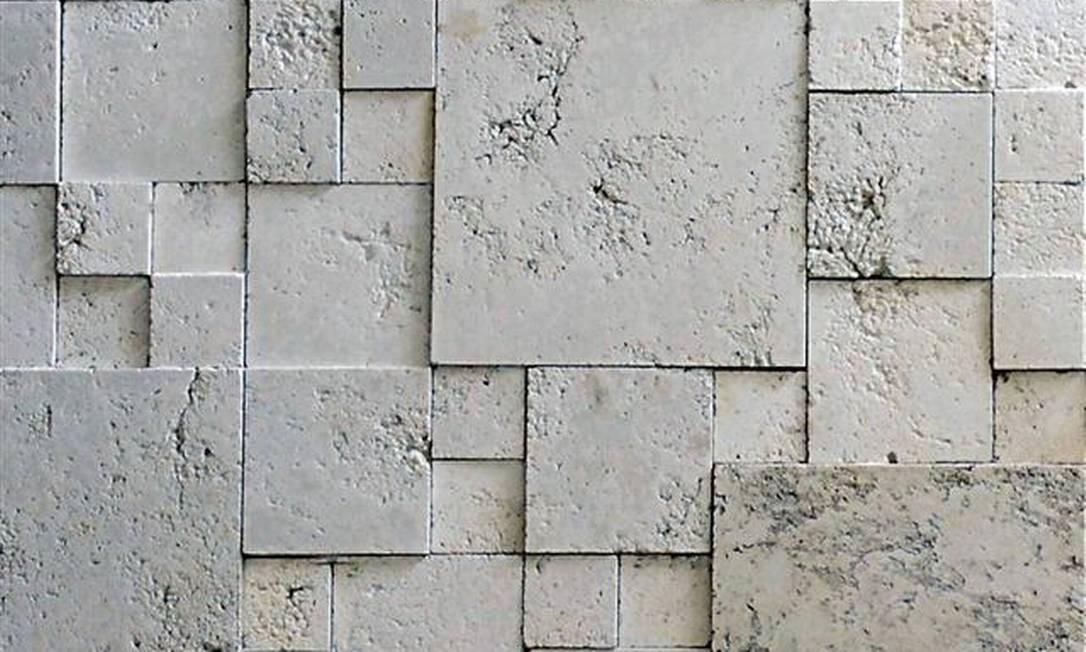 Entre na onda do alto relevo jornal o globo for Mosaico adesivo 3d