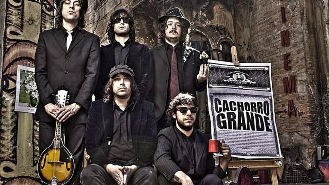 Capa do CD do Cachorro Grande Divulgação
