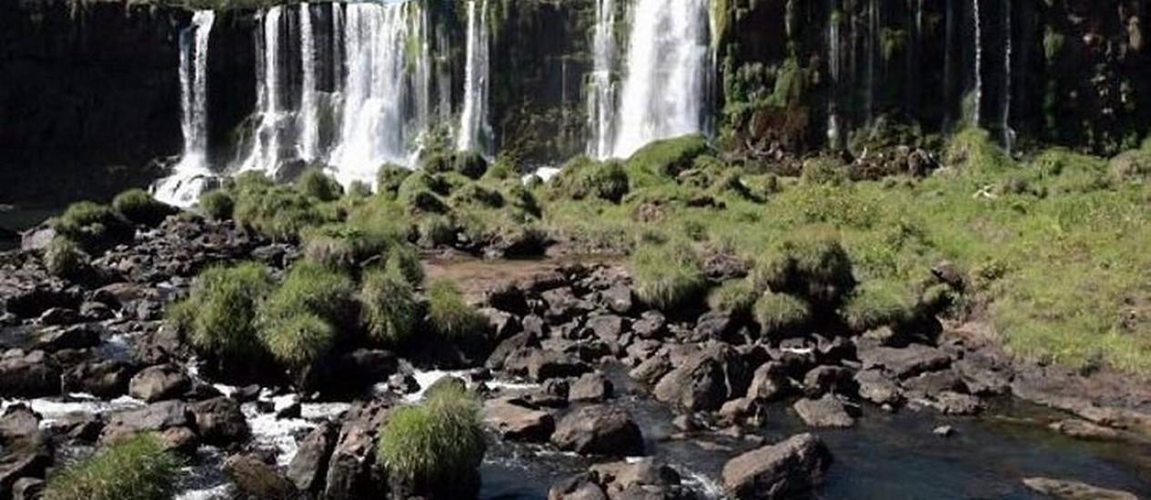 Estiagem mudou paisagem nas Cataratas do Iguaçu - Portal RPC