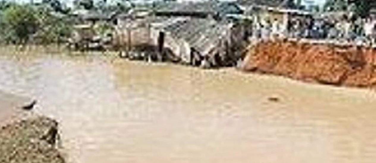 Enchente em Altamira, no Pará, Reprodução Portal AmazôniaAfiliada TV Globo