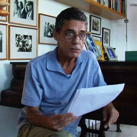 Chico Buarque no filme 'Palavra (En)cantada' Foto: Divulgação