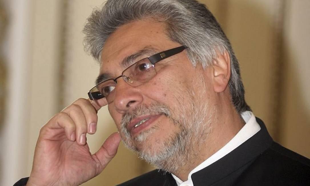 O presidente do Paraguai, Fernando Lugo