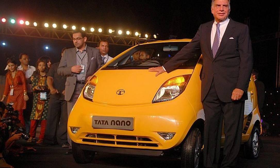 Tata apresenta seu carro Reuters