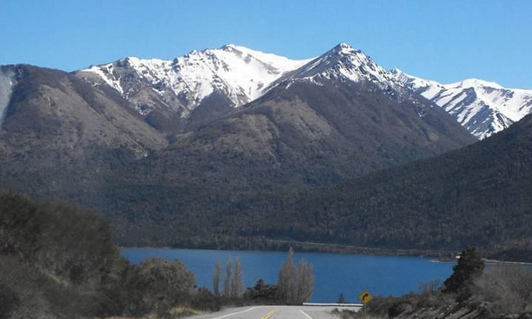 Nahuel Huapi, um destaques na região, com o Cerro Tronador, fica a 90 km de Bariloche Foto: Luisa Valle