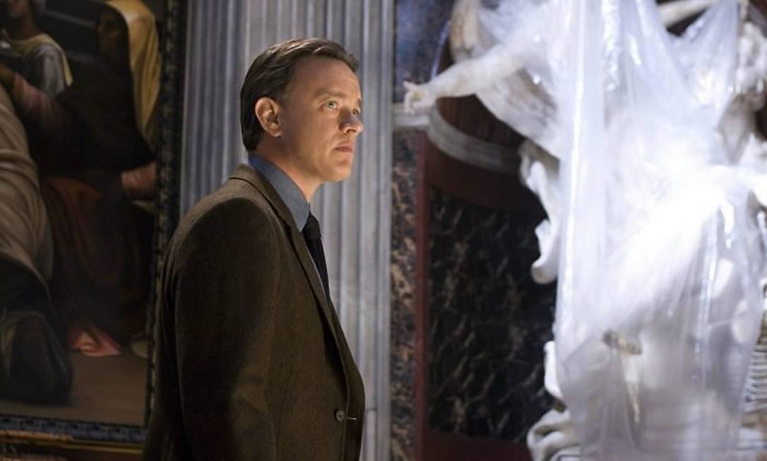 Tom Hanks em cena do filme 'Anjos e demônios'. Foto Divulgação