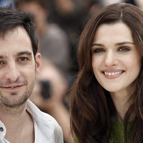 Diretor Alejandro Amenabar e atriz Rachel Weisz