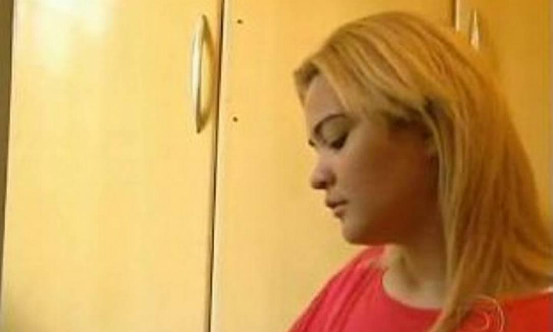 Geisy disse que está abalada e queria voltar a estudarReprodução TV Globo