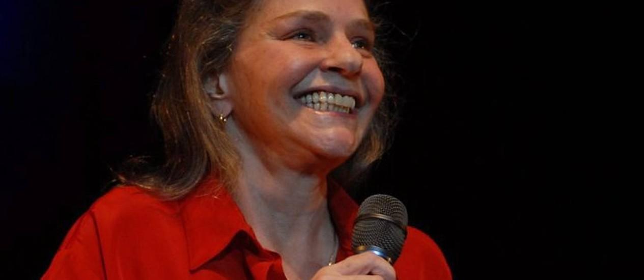 A cantora Angela Ro Ro Divulgação