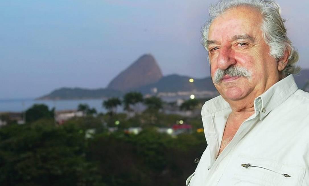 O ator Renato Consorte em 2004. Foto Camilla Maia O Globo