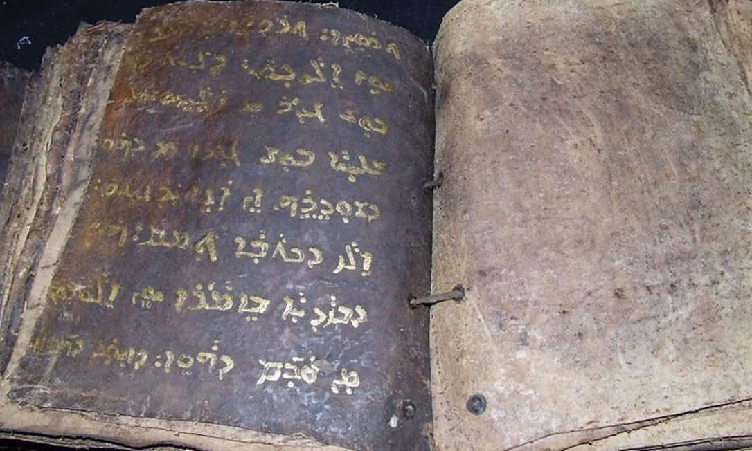 Autoridades do Norte de Chipre acreditam ter encontrado uma antiga versão da Bíblia escrita em siríaco, um dialeto da língua nativa de Jesus Reuters
