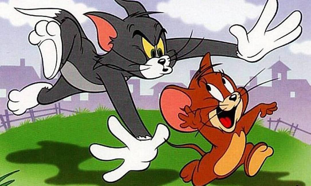 Tom e Jerry. Foto Divulgação