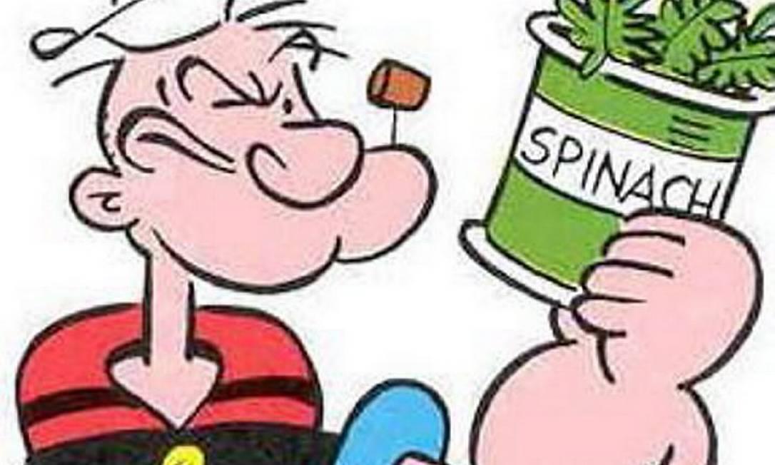 O marinheiro Popeye Foto: Reprodução