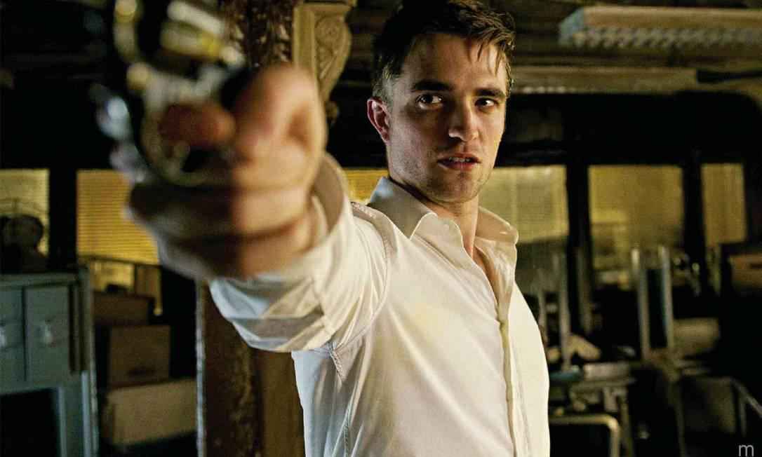 No filme 'Cosmopolis', Robert Pattinson é um bilionário que entra numa enrascada Foto: Divulgação