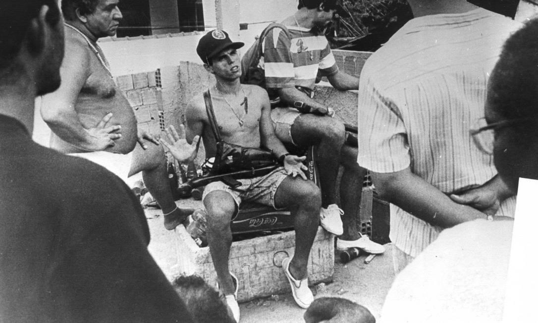 Sérgio Ferreira da Silva, o Bolado, assumiu o comando do tráfico na favela a mando de Denir Leandro da Silva, o Dênis da Rocinha Arquivo O Globo