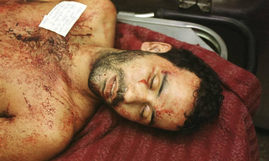 Luciano Barbosa da Silva, o Lulu, foi morto por policiais do Bope em abril de 2004, durante uma operação. Ele tinha 26 anos e era o chefe do tráfico Paulo Toscano / 14-04-2004 / Arquivo O Globo