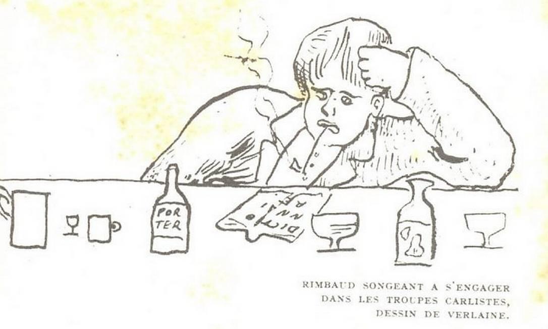 Imagens do livro 'Arthur Rimbaud - Correspondência', da Topbooks Reprodução