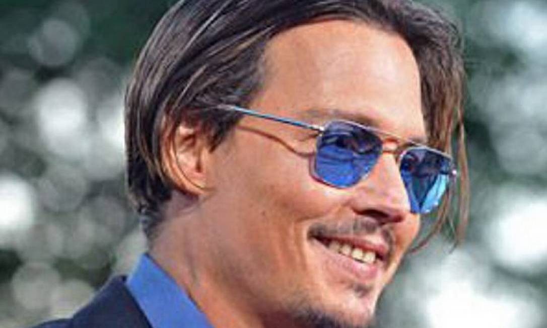 O ator Johnny Depp Reprodução