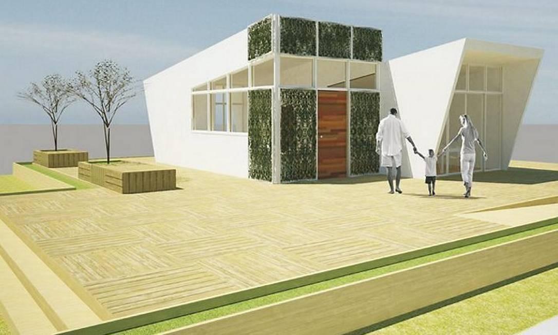 Stephouse: projeto de casa ecoeficiente com material reciclado
