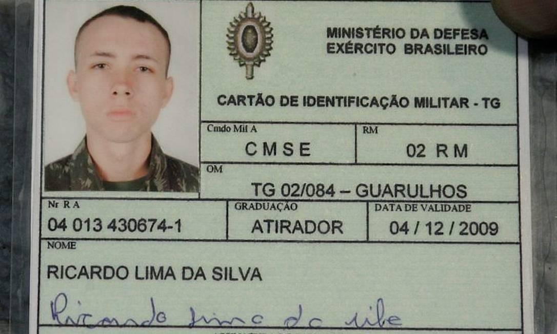 Ricardo Lima foi presos acusado de participar de assalto em Guarulhos - Foto Diário de S. Paulo