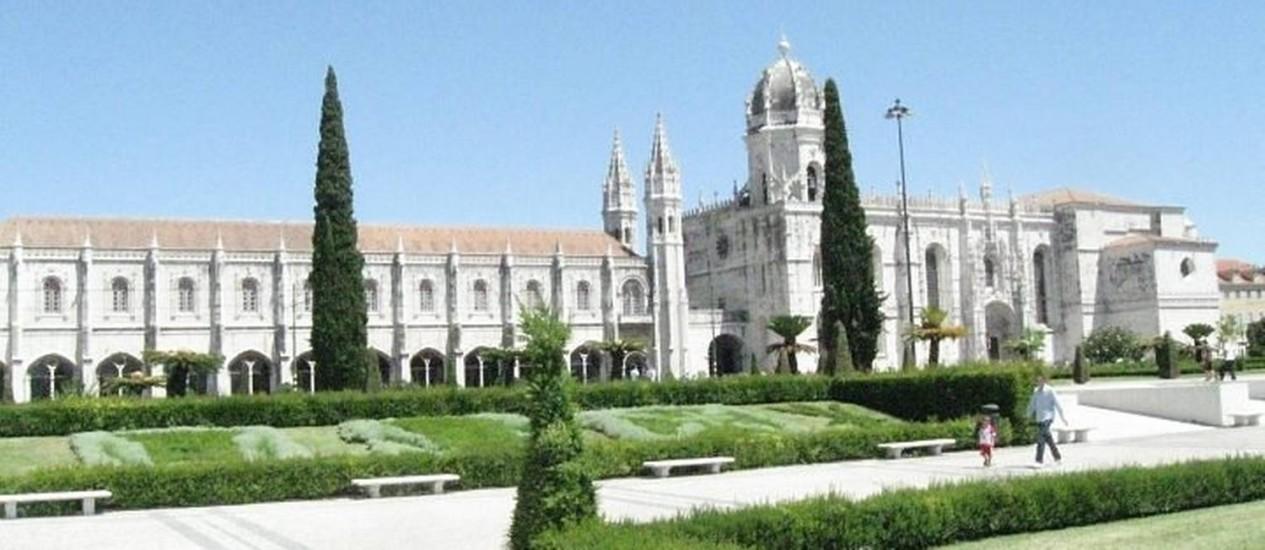 Mosteiro dos Jerônimos, em BelémFoto de Gustavo Alves