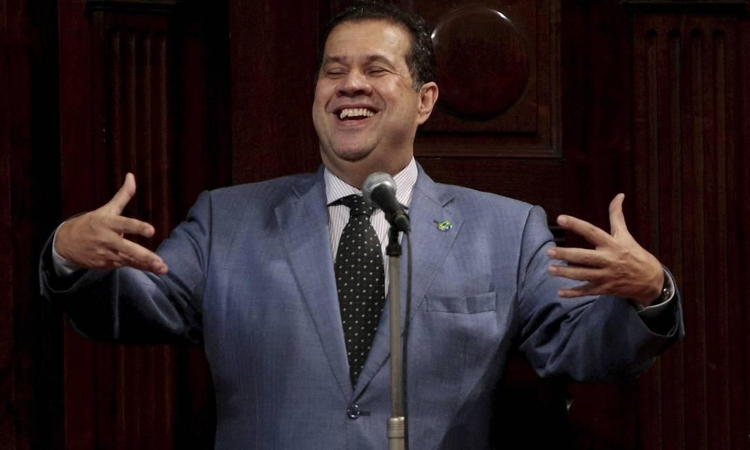 O ministro do Trabalho Carlos Lupi em foto Pedro Kirilos / O Globo Foto: Pedro Kirilos / O Globo
