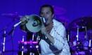 Mike Patton, do Faith No More, fechou o SWU em show memorável / Michel Filho Foto: Agência O Globo