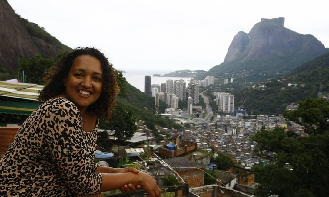 Lenita Rocha teve o imóvel, com vista privilegiada, valorizado Foto: O Globo / Pablo Jacob