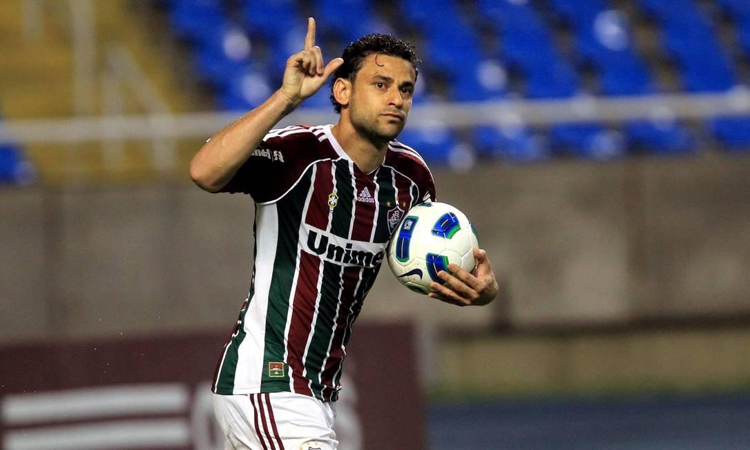 4cf0d9a382 Fred diz que jogadores do Fluminense pensam no título