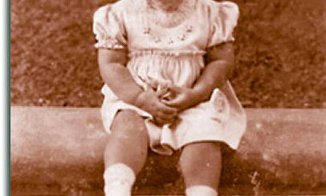 Iris Lettiri com um ano de idade Arquivo pessoal