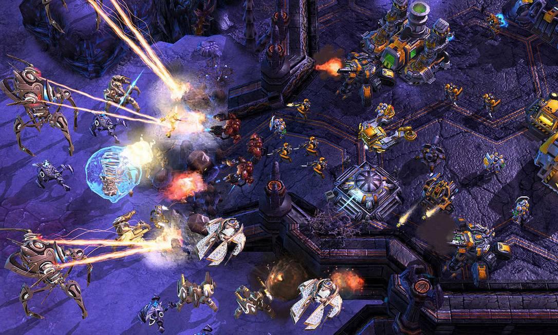 Starcraft 2, um dos jogos preferidos dos sul-coreanos