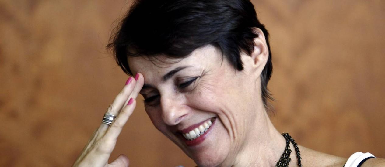 Ana de Hollanda, ministra da Cultura: projeto parecido com o da gestão anterior Foto: Leonardo Aversa / Agência O Globo