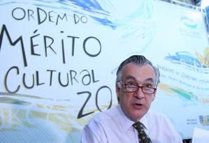 Juca Ferreira em foto de 2010, quando ocupava o ministério da Cultura Foto: Ana Branco / Agência O Globo