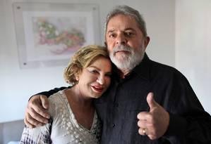 Lula e a mulher em vídeo de agradecimento por todo apoio Foto: Instituto Lula / Reprodução / Ricardo Stuckert