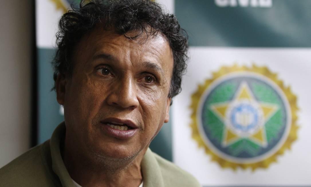 Eraldo é apontado pela polícia como ex-chefe do tráfico da Rocinha e também fundador de uma das facções criminosas que atua no estado Foto: O Globo / Márcia Foletto