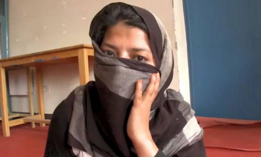A jovem Galnuz pode se casar com seu agressor para não cumprir a pena de 12 anos de prisão Foto: Reprodução CNN