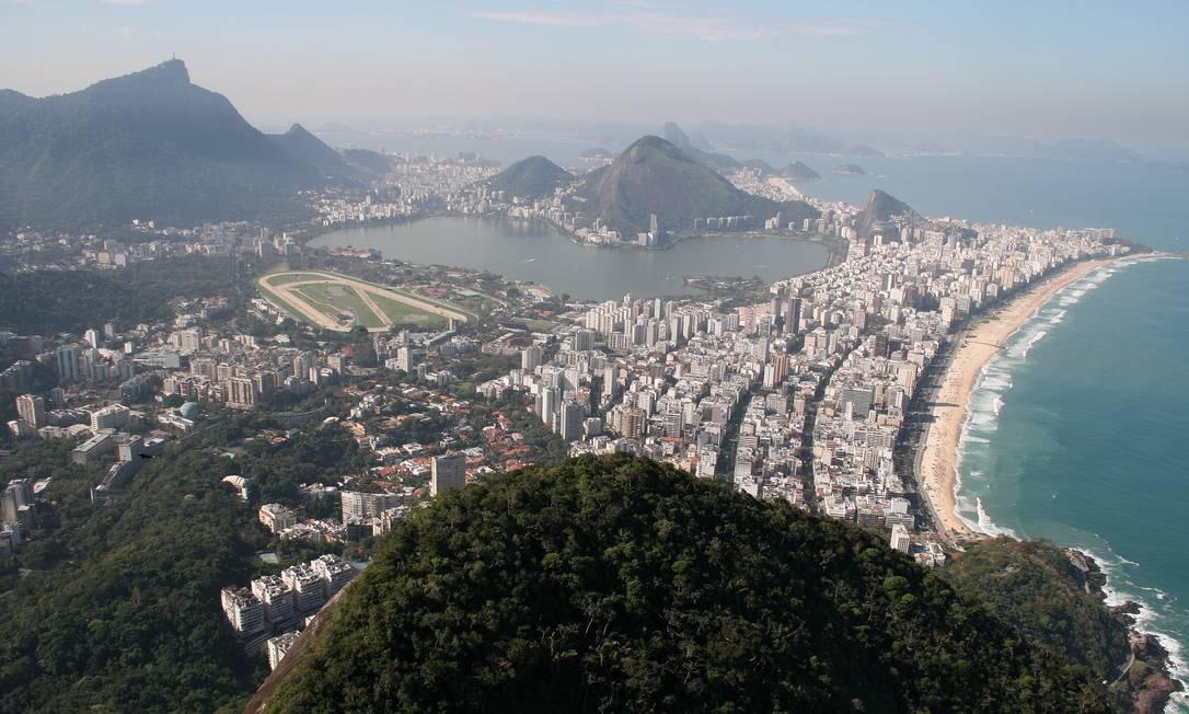 Rio de Janeiro, a cidade sede dos Jogos de 2016 Foto: O Globo / Felipe Hanower