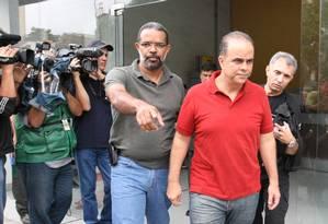 Marcos Valério é preso em Belo Horizonte em operação contra grilagem de terra Foto: Marcelo Prates / Jornal Hoje