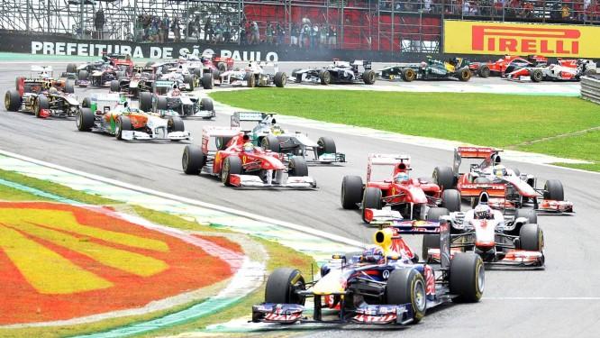 O GP de Interlagos vai encerrar a temporada da Fórmula-1 de novo Foto: Antonio Scorza / AFP