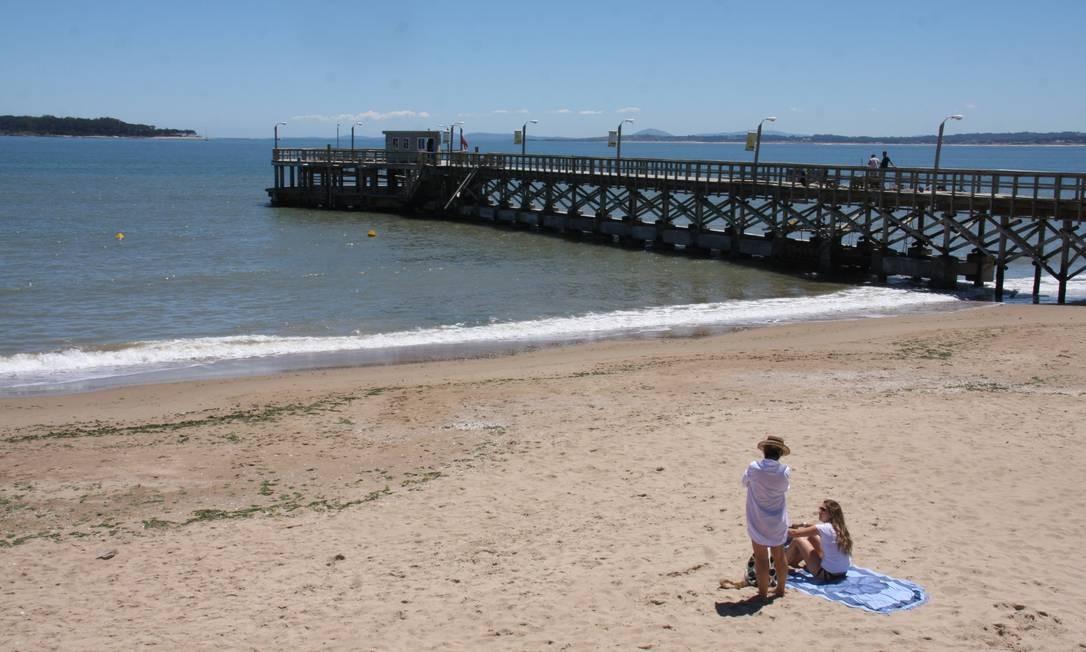 As praias de Punta del Este acabam ficando em segundo plano, diante de tanta badalação. Foto: Bruno Agostini / O Globo