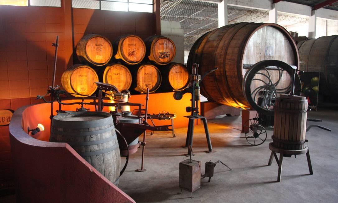 A tradicional bodega Irurtia fica em Carmelo, vizinha de Colonia do Sacramento. Foto: Bruno Agostini / O Globo