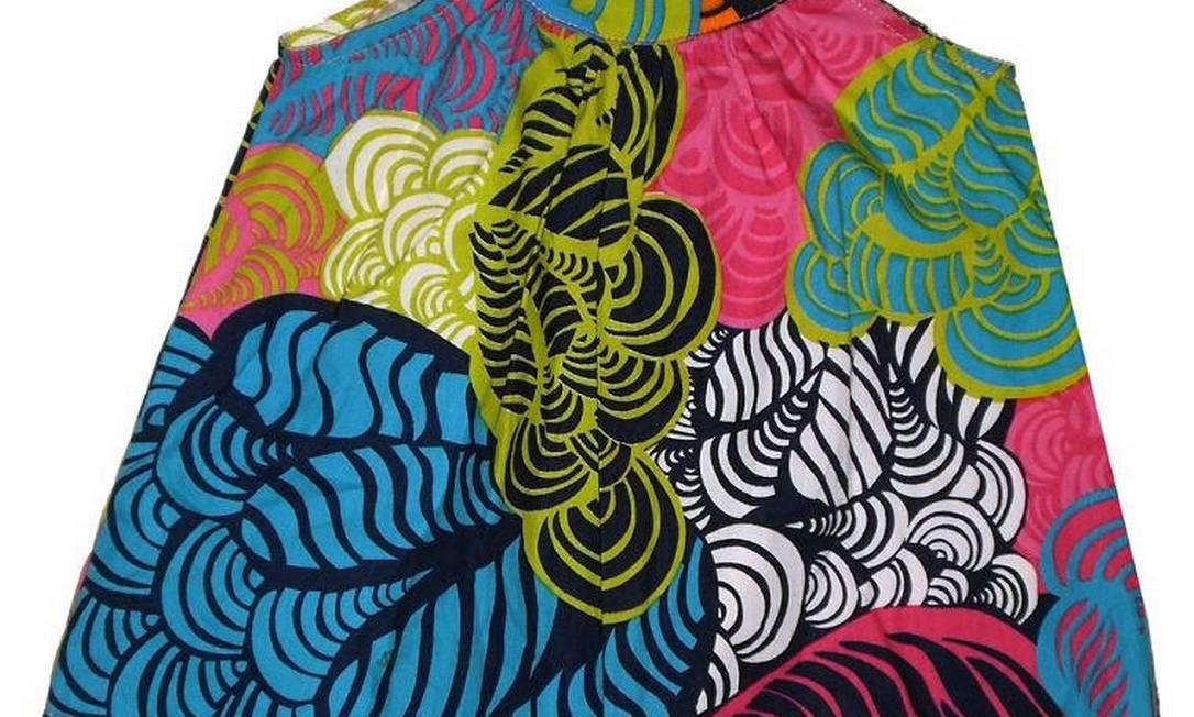 Vestido estampado - R$ 49,90 - Desejos de Sofia - www.estilistasindependentes.com Divulgação / Divulgação
