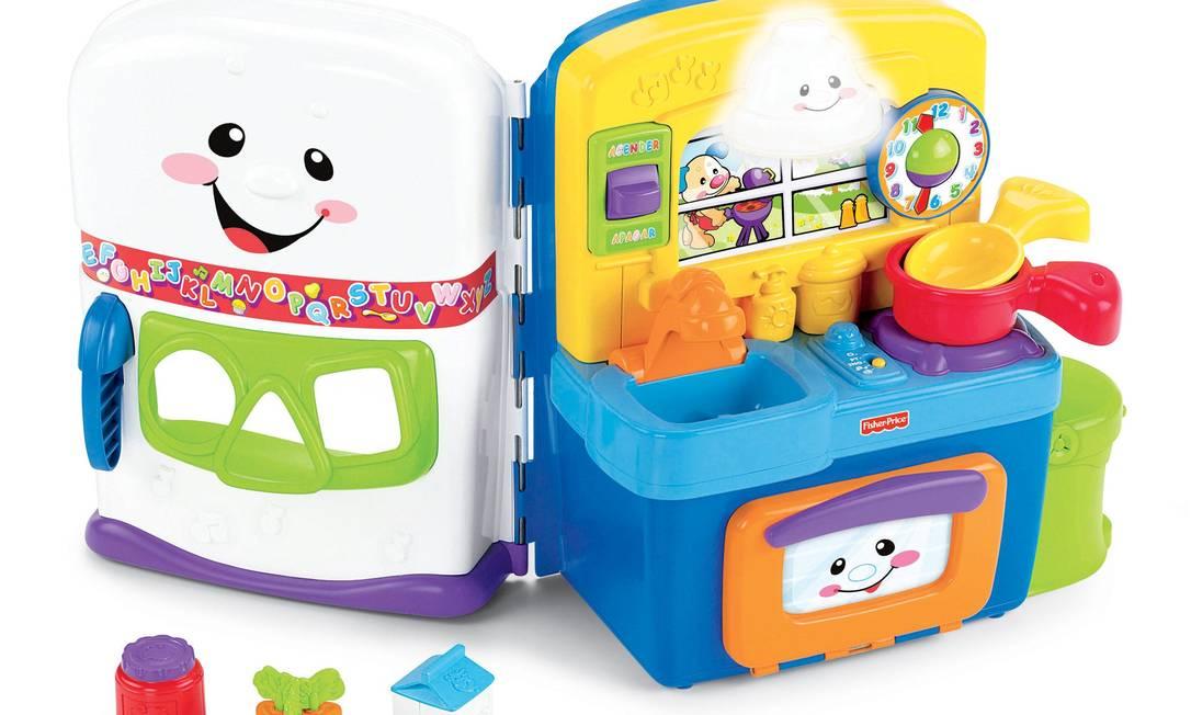 Cozinha Aprender e Brincar - R$ 300 - Mundo Bebê - www.mundobebeonline. com.br Divulgação / Divulgação