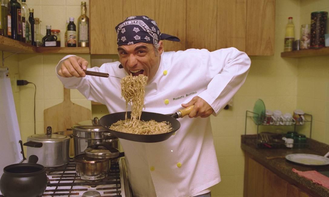 Além de ator, Rodolfo era chef de cozinha formado pela renomada escola Le Cordon Bleu, na França. Wânia Corredo