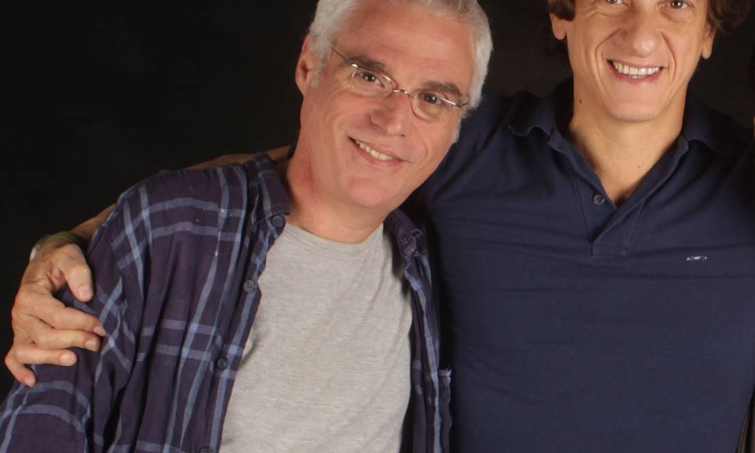 O ator voltou aos palcos na peça 'Homens, santos e desertores', dirigido por Ernesto Piccolo. Pat Duarte / Agência O Globo