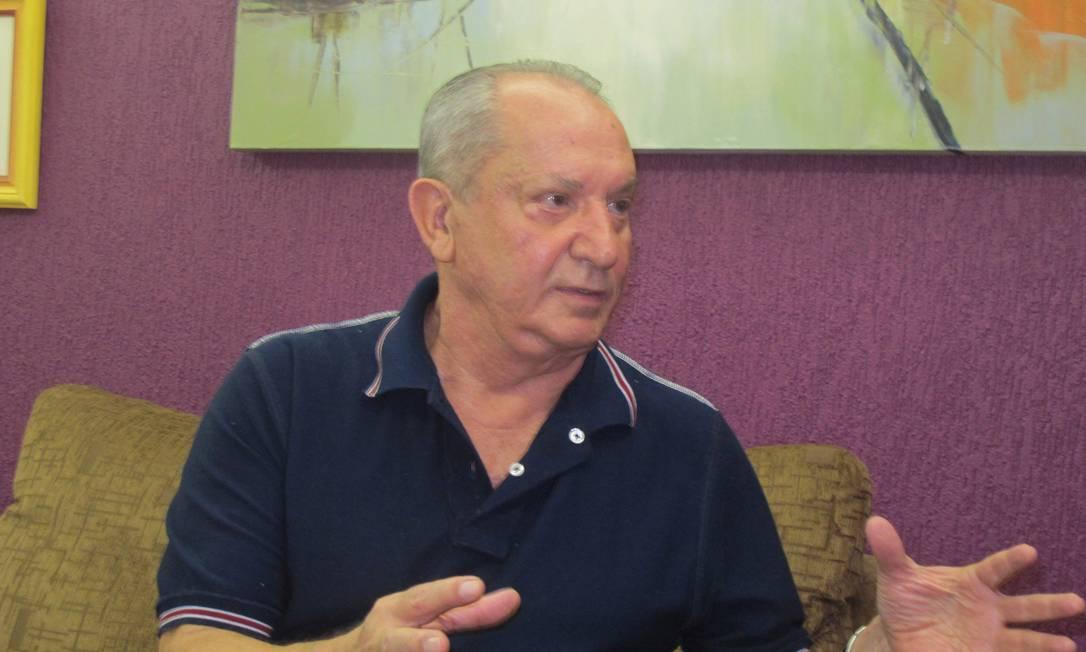 Coronel da reserva Pedro Ivo Moézia de Lima, ex-integrante do Doi-Codi e autor de ação para impedir a criação da Comissão da Verdade Foto: Evandro Éboli / O Globo