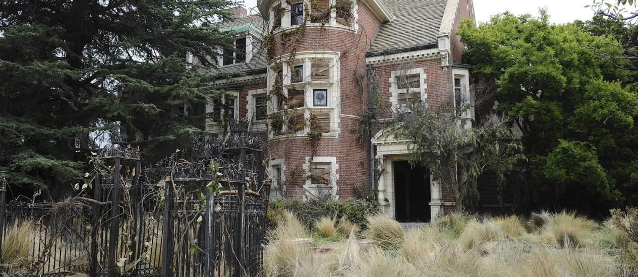 A mansão como é mostrada na série americana Foto: Divulgação