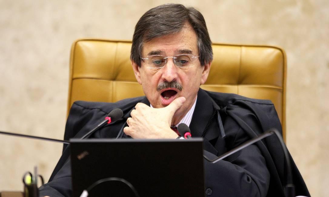 O presidente do Supremo Tribunal Federal, ministro Cezar Peluso Foto: Aílton de Freitas / O Globo