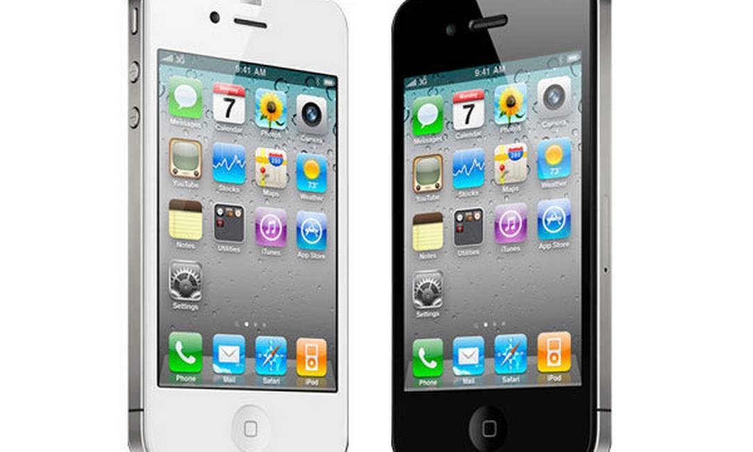 Novo iPhone 4S, da Apple Foto: Divulgação